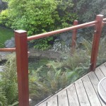 Decking handrail