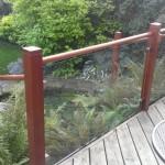 Decking handrail