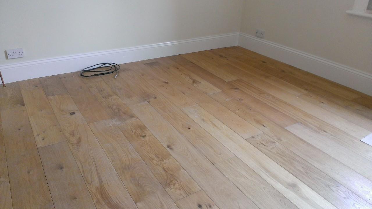 Oak Flooring And Skirting Boards