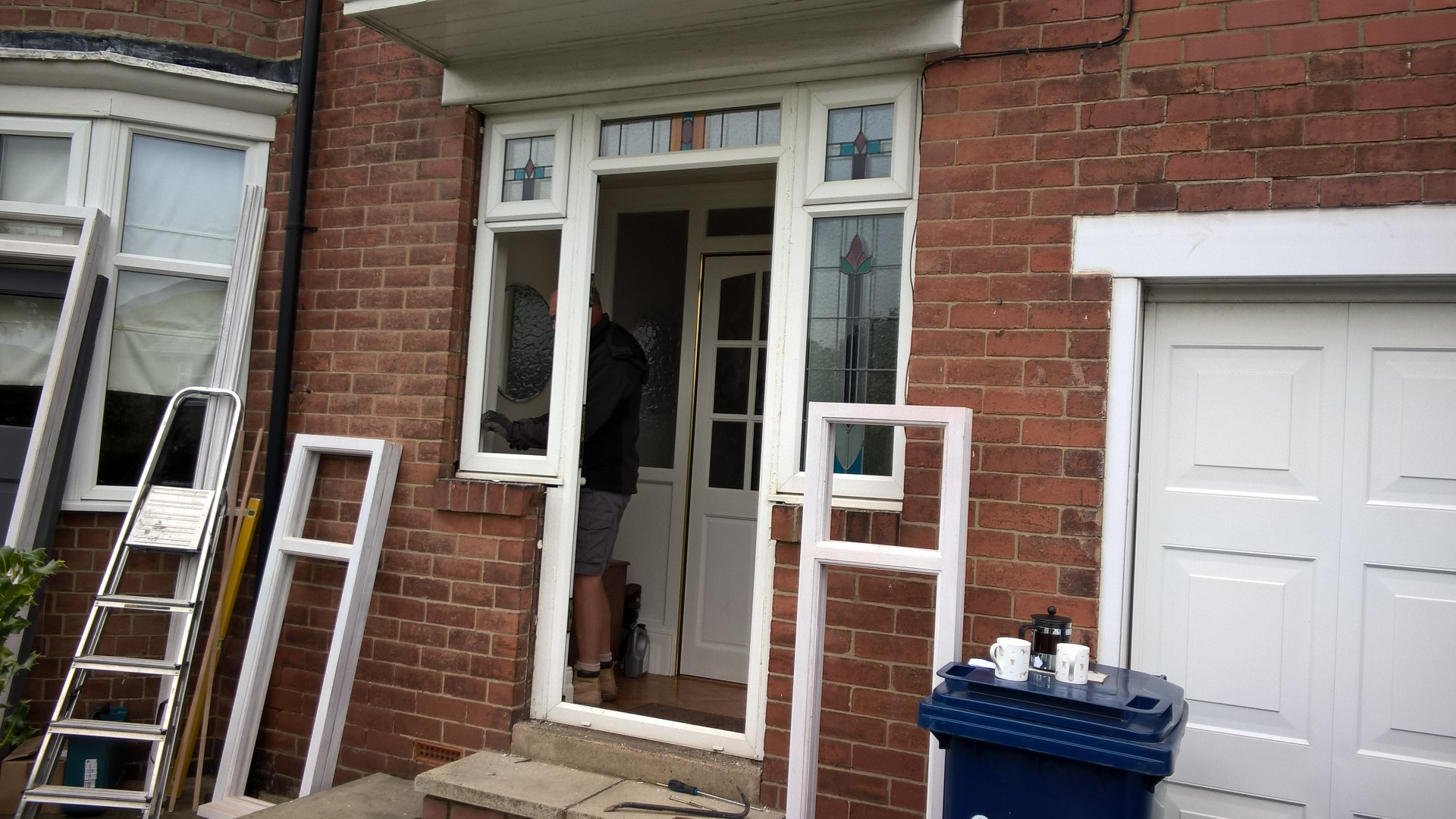 new hardwood front door and frame stephen francis
