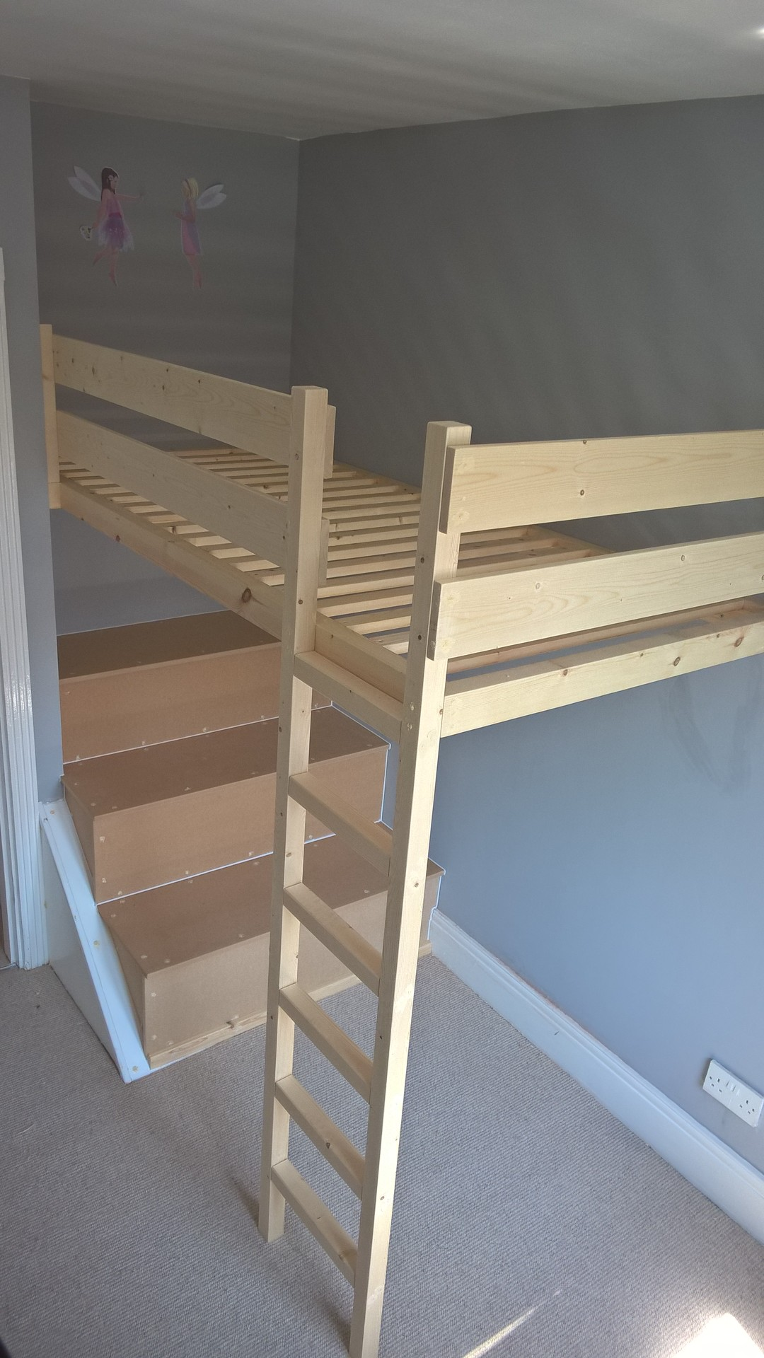 Small Box Room Cabin Bed For Grandma: Stephen Francis