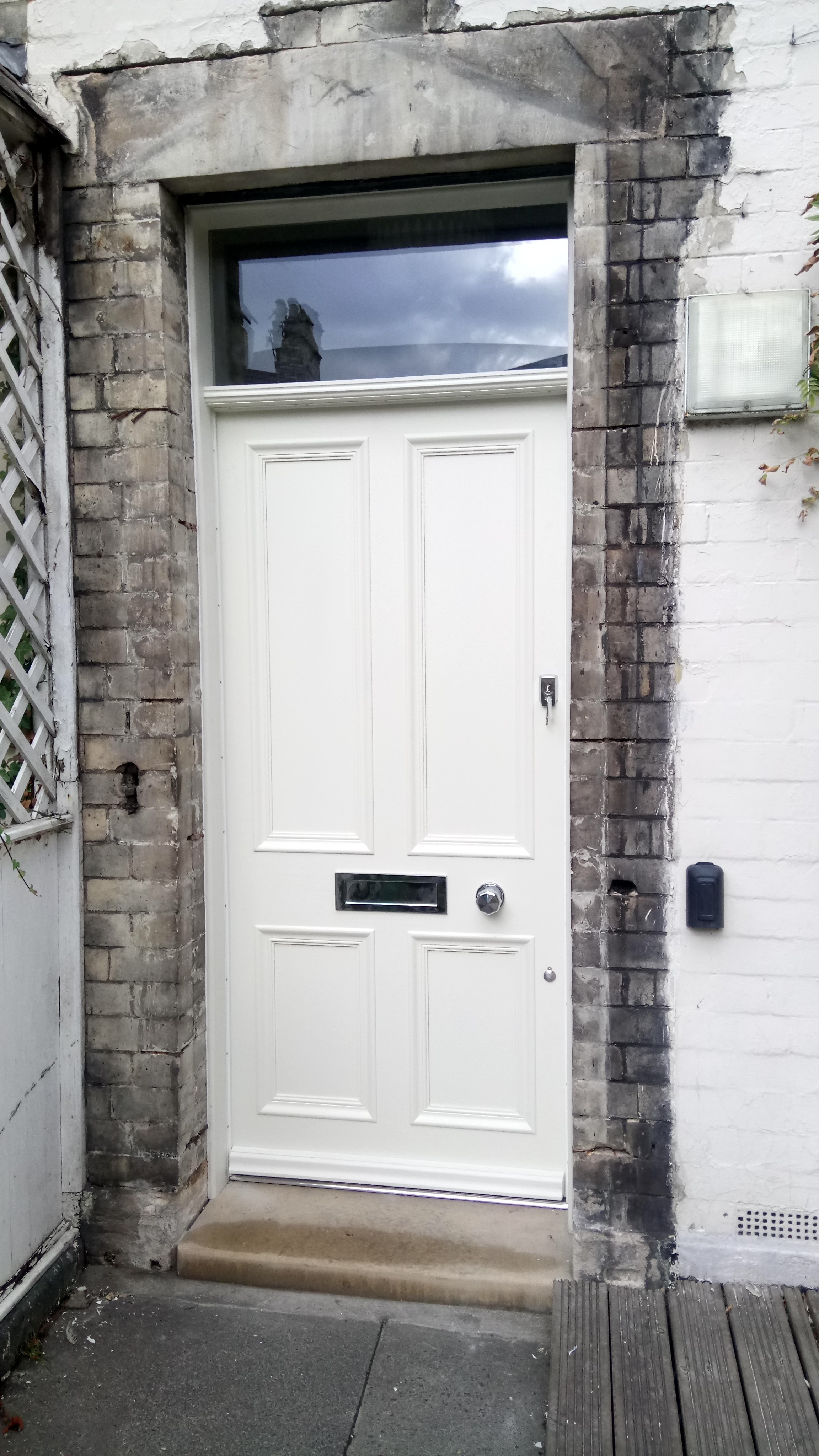 New Front Door In Jesmond | Stephen Francis on